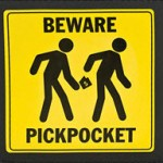 Beware-Pickpockets
